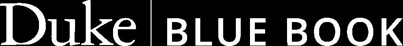 Duke Blue Book